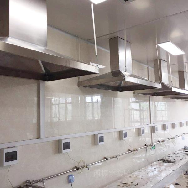 柳州师范学院不锈钢通风罩项目